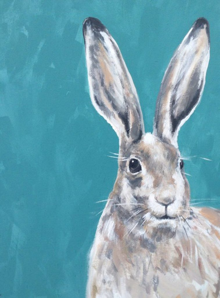 British wildlife: hares 02